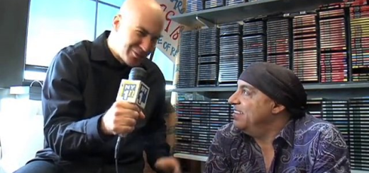 Eric Holland with Steven Van Zandt