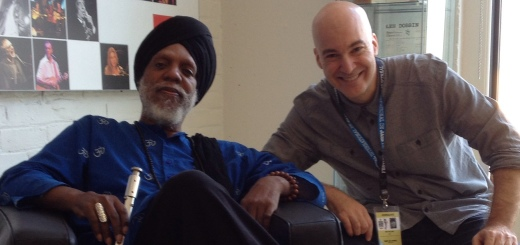 Eric Holland with Dr. Lonnie Smith