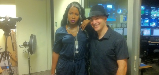 Eric Holland with Remy Ma