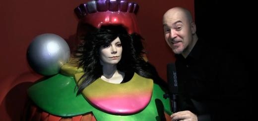 Björk at MOMA