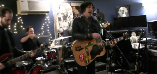 Jesse Malin and Band Practicing