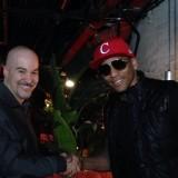 Eric Holland with Pedrito Martinez