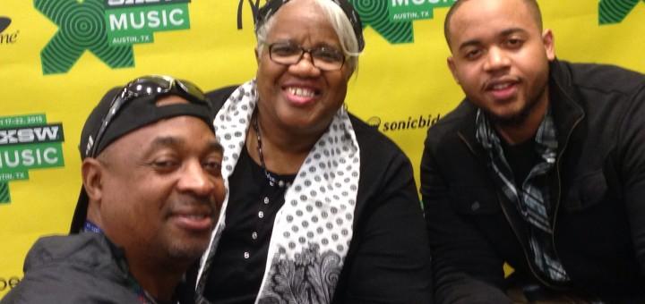 Chuck D with Madisen Ward and the Mama Bear