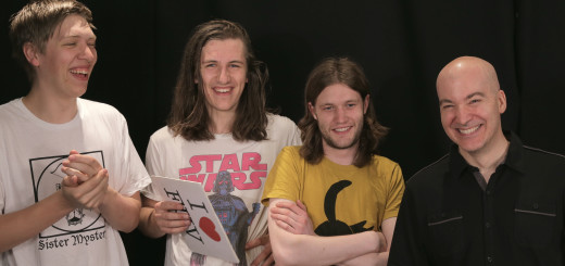 Eric Holland with Drenge