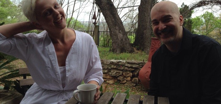 Eric Holland with Laura Marling
