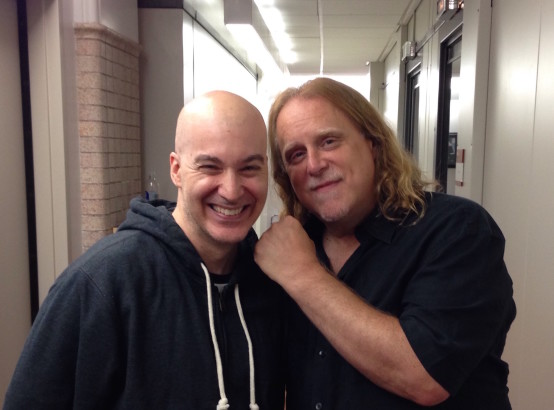 Eric Holland with Warren Haynes