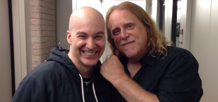 Eric Holland with Warren Haynes