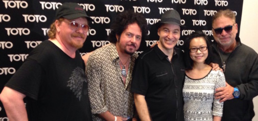Eric Holland with TOTO