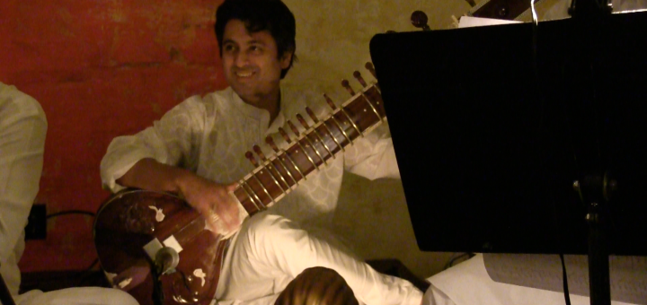 Musician in Song of Lahore