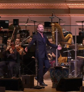 Sting at Carnegie Hall